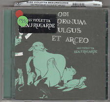 MISS VIOLETTA BEAUREGARDE - odi profanum vulgus et arceo CD