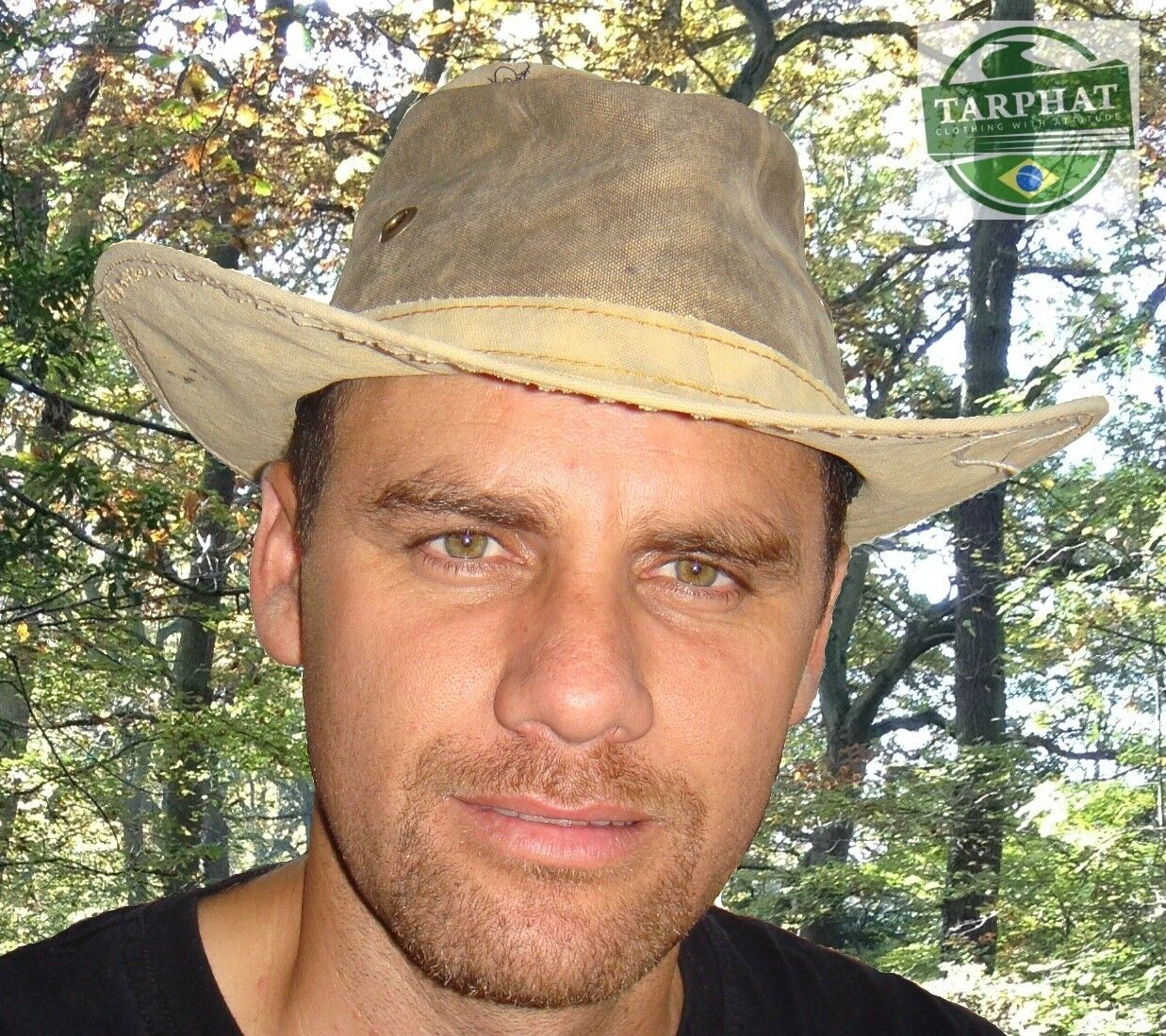 Geoca ng Hat-Tully wide brim Walking Bush Hat  - Brazil Tarp Hats - 6 Sizes     there are more brands of high-quality goods