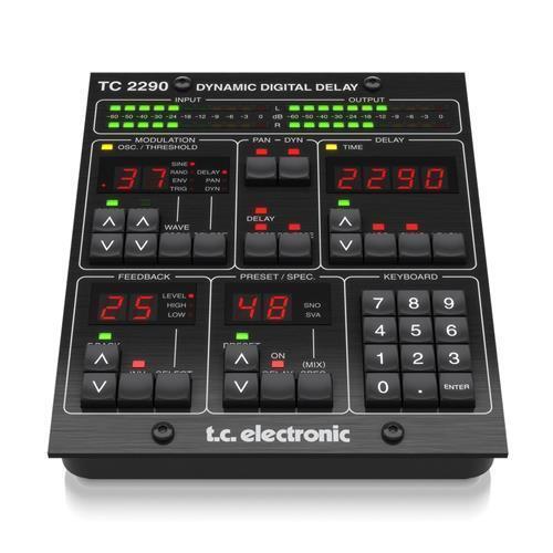 TC ELECTRONIC TC2290-DT PLUGIN DELAY CON CONTROLLER USB DEDICATO