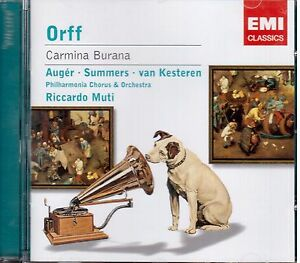 Orff: Carmina Burana / Muti, Augér, Van Kesteren - CD
