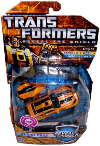 Transformers Bumblebee Action Figure Reveal The Shield MIB RARE Deluxe Class Toy