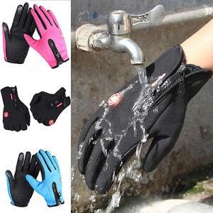 Neu-Wasserdicht-Thermo-Winter-Handschuhe-Finger-Touch-klappbar-Sport-Warm-Gloves