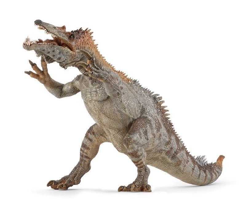Baryonyx w  Movable Jaw Replica  USA w Papo Products