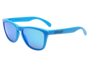 Oakley-Frogskins-Heaven-amp-Earth-Sunglasses-OO9013-15-Matte-Sky-Sapphire-Iridium