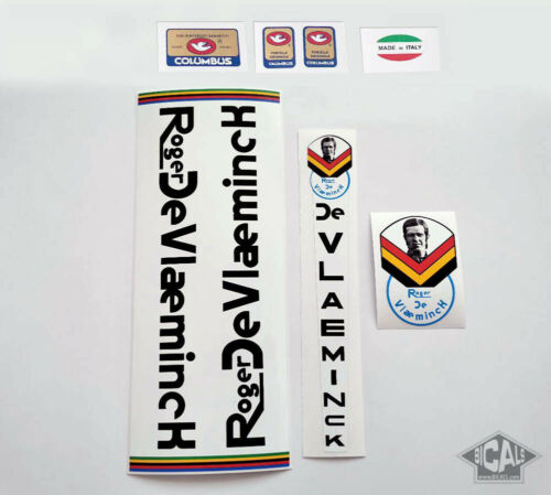 ROGER DE VLAEMINCK RDV COLNAGO decal set sticker complete bicycle FREE SHIPPING