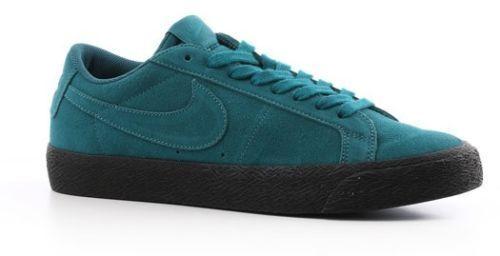 de2fd41b15a3 Men s Nike SB Zoom Blazer Low Size 11 Geode Teal Black Skateboarding Shoes  for sale online