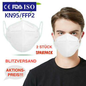 2x FFP2 Atemschutzmask