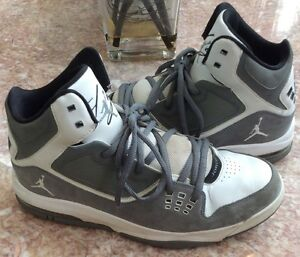 250c6c0045e NIKE Air Jordan Flight 23 RST Men's Gray White Basketball Shoes Sz12 ...
