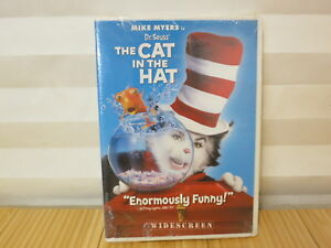 Dr-Seuss-039-The-Cat-In-The-Hat-Widescreen-Edition-DVD-NEW-FREE-SHIPPING