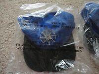 Marlboro Unlimited Gear Blue Strapback Hat Cap Compass Embroidered