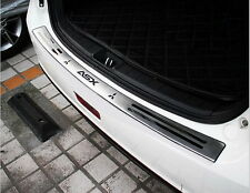 Mitsubishi ASX 2010-15 Stainless steel trunk guard rear bumper foot plate
