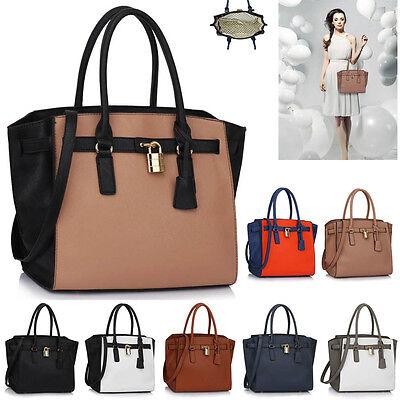 Ladies Fashion Designer Celebrity Tote Bags Womens Quality Shoulder Handbags New
