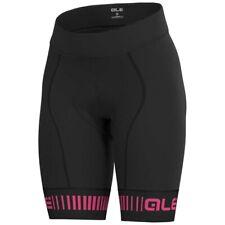 Alé Ale Damen Strada PR.R kurze Trägerhose rutschfestes Bein schwarz-weiß