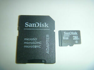Sandisk Edge 8gb Micro Sd Card Adapter Memory Cameras Wii 3ds Ds Computers Ebay