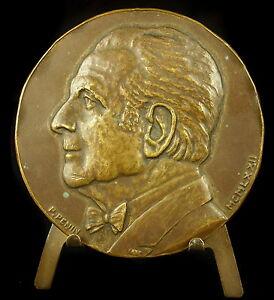 Medaille-Professeur-Pierre-Mounier-Kuhn-bronchiologie-Ethmoido-antrite-Medal