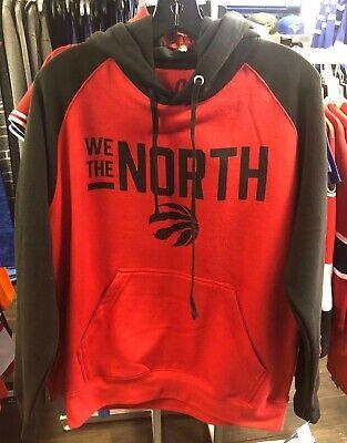 best service 717dd cbc3f Adults Toronto Raptors We The North Two Tone NBA Basketball Hooded  Sweatshirt | eBay