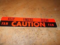 1960 1961 1962 1963 1964 Ford Galaxie Sunliner Starliner Caution Fan Decal