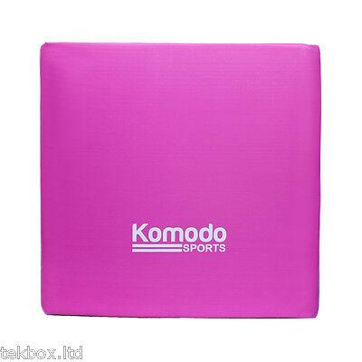 Komodo Tri Fold Folding Exercise Mat Yoga Gym Crash Train Workout Padded Pilates