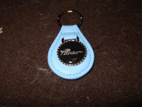 1971 1972 1973 1974 1975 1976 1977 1978 1979 1980 FORD PINTO KEYCHAIN LIGHT BLUE
