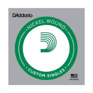 Long Scale .130 D/'Addario XLB130 Nickel Wound Bass Guitar Single String