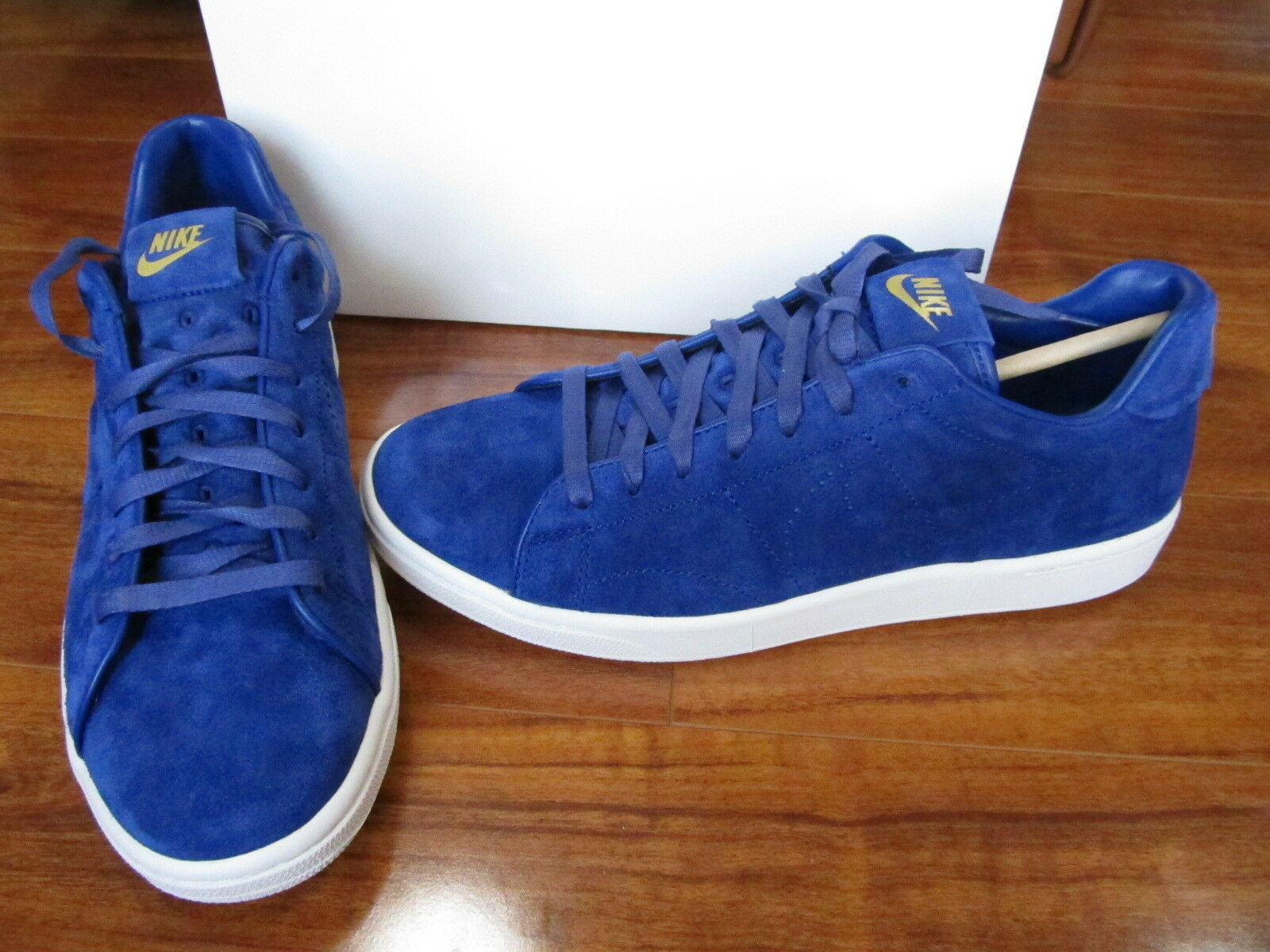 NEW NIKE TENNIS CLASSIC PDM SP SHOES MENS 10 BLUE SUEDE 621357 447 150