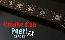 Emperial Numeral Blocks MOP Block Fretmarker Inlay Decal for Fender orANY GUITAR