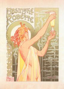 l-039-Absinthe-Robette-by-Theodore-Privat-Livemont-90cm-x-64cm-Art-Paper-Print