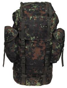 dc8e65170f62e Das Bild wird geladen BW-Kampfrucksack-flecktarn-gross-Mod -Camouflage-Armee-Militaer-