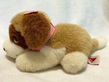 "Vtg DAKIN 1993 Beethoven MISSY St. Bernard Stuffed Girl Dog Plush 8"" Pink Bow"