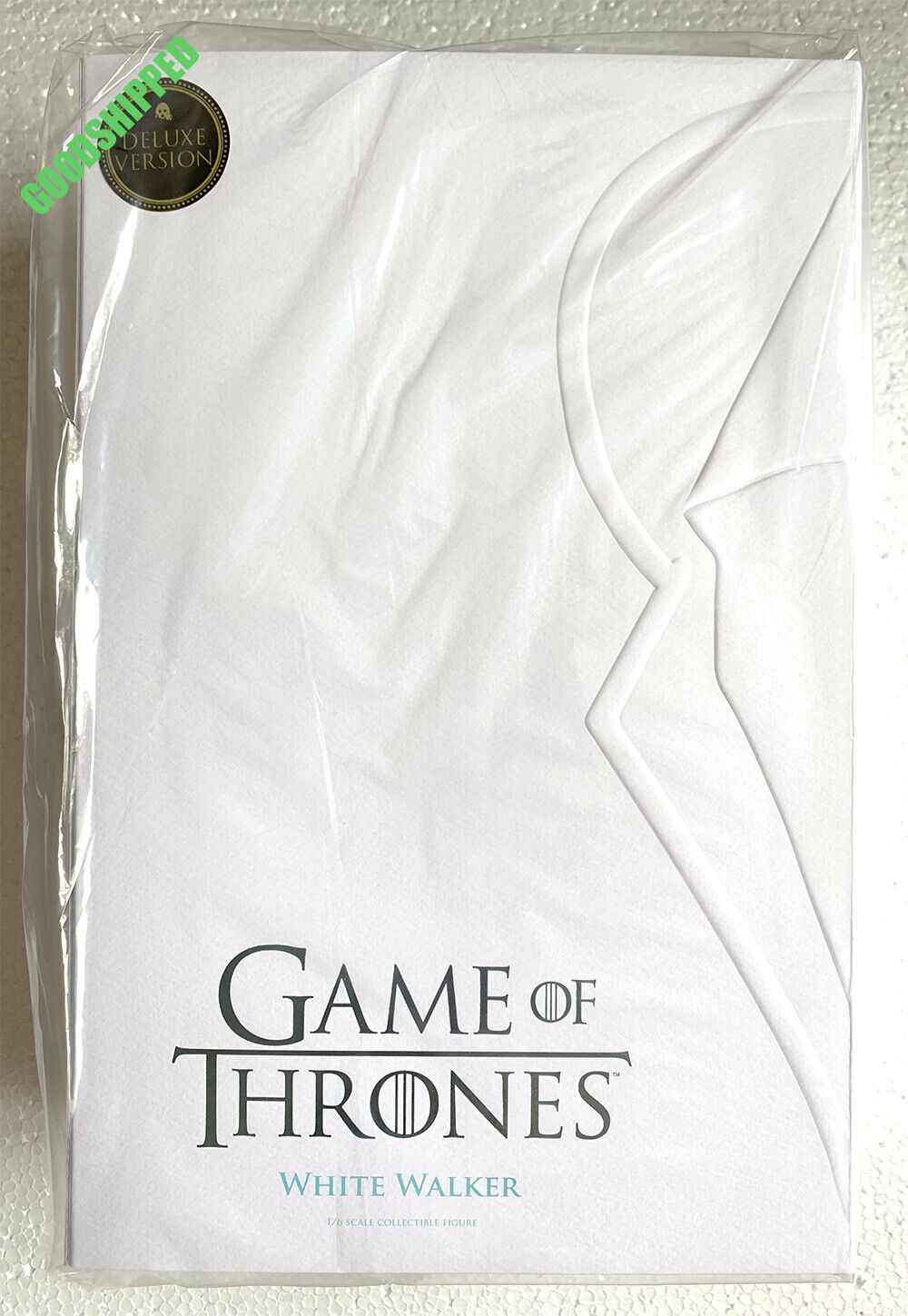 Prêt ThreeZero HBO Game of Thrones blanc Walker 1 6 Deluxe NEUF