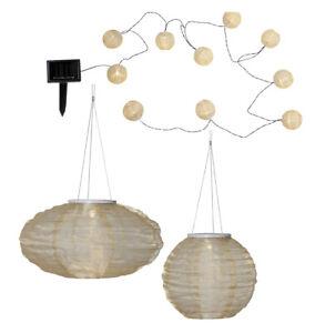 LED-Solar-Lampion-rund-oval-10er-Lichterkette-gold-weiss-IP44-Partylichterkette