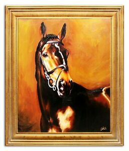 Oil-Painting-Pictures-Hand-Painted-with-Frame-Baroque-Art-G04458