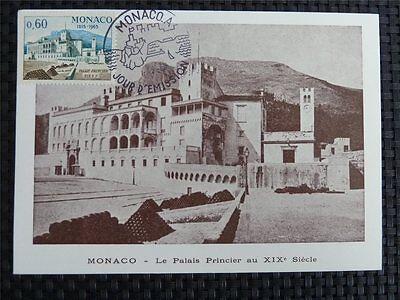 DemüTigen Monaco Mk 1966 Prince Palace Maximumkarte Carte Maximum Card Mc Cm C837 Und Verdauung Hilft Diverse Philatelie Europa