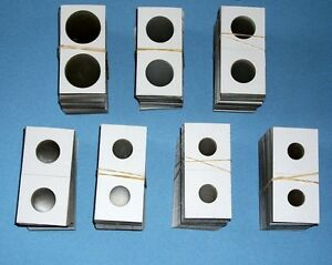 New 2x2 Dime Size Cardboard Coin Holders Flips Qty of 50 Protectors Roosevelt