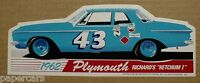 Richard Petty 1962 Plymouth Savoy Ketchum I 1 Stp Racing Shop Sticker Decal