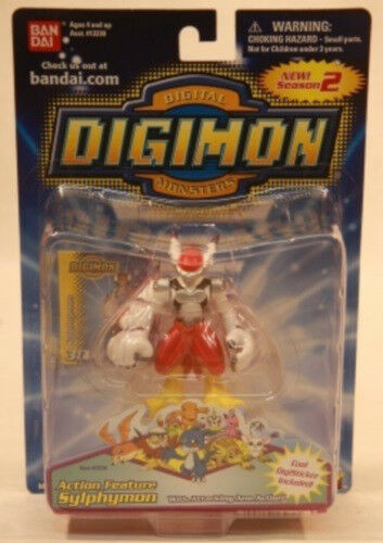 Digimon 3  Action Action Action Feature Sylphymon Figure by Bandai (MOC) 7bc7b8