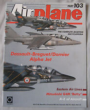 Airplane Issue 103 Dassault-Breguet/Dorier Alpha Jet, Mitsubishi G4M 'Betty'
