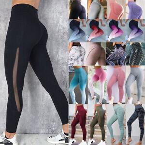 Women-039-s-High-Waisted-Yoga-Pants-Leopard-Snake-Printed-Leggings-Fitness-Trousers
