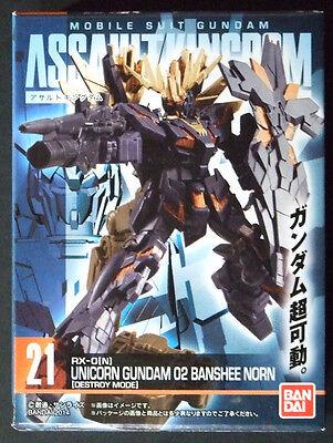"/"" Brand-new BANDAI GUNDAM Assault Kingdom vol.2 /"" Unicorn Gundam Destroy mode"