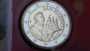 2-euro-2019-fdc-San-Marino-saint-marin-NUOVA-EFFIGE