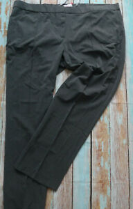 Sheego-Trousers-Cloth-Pants-Grey-Size-54-plus-Size-345