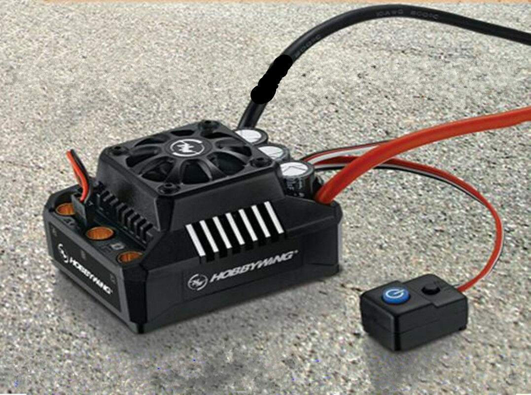 Hobbywing Ezrun Max6 160 A 1 6 V3 Controlador de Velocidad Brushless ESC Impermeable