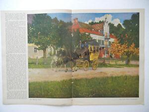 Ein BrüLlender Handel b205 Original Blatt Aus Der Zeitschrift Jugend 1911 Hoess Von Finetti