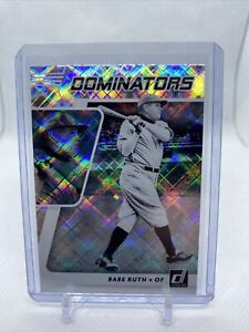 2021 Panini Donruss Baseball Dominators Babe Ruth #DOM3