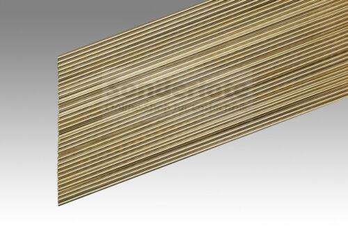 30 varillas soldadura a 210 messinglot Blank 2,0 x 500 mm L-cu Zn 40