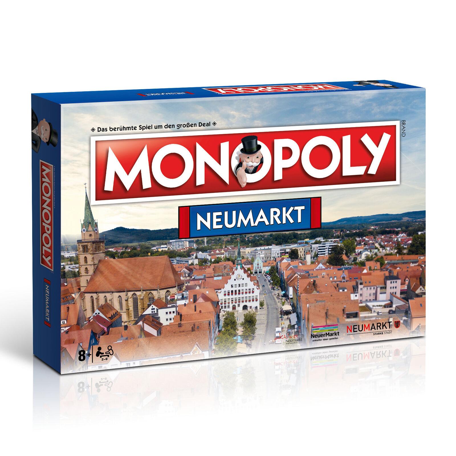 Monopol neumarkt city edition stadtedition spiel partyspiel brettspiel