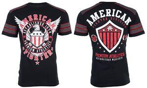 AMERICAN-FIGHTER-Mens-T-Shirt-EXCELSIOR-Eagle-BLACK-Athletic-Biker-Gym-40