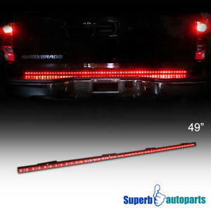 49 led tailgate light bar line of fire signal reverse brake truck image is loading 49 034 led tailgate light bar line of aloadofball Gallery