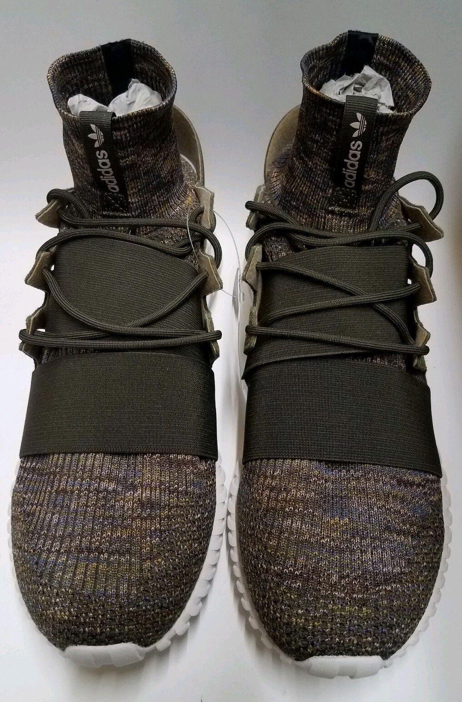 Adidas Mens Originals Tubular Doom Primeknit Green Sneakers shoes Size 12