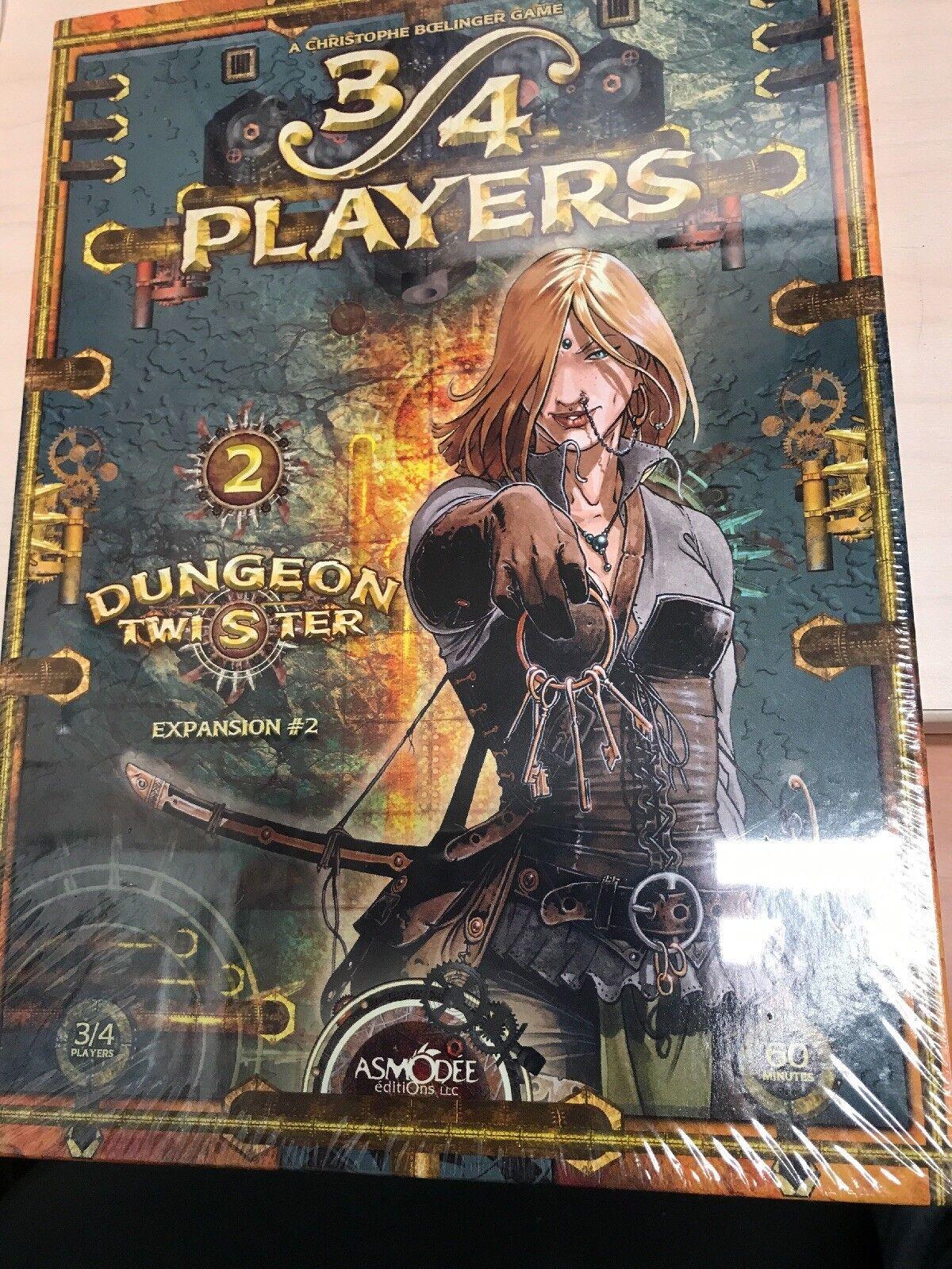 Nuevo Sellado Dungeon Twister expansión 2 II 3 4 jugadores Juego de Mesa Rara